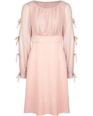 Платье розовое из вискозы Pennyblack