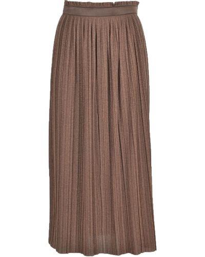 Brązowa spódnica Alysi