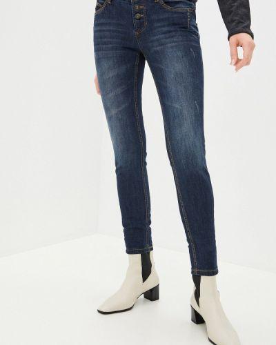 Синие джинсы-скинни узкого кроя Sublevel