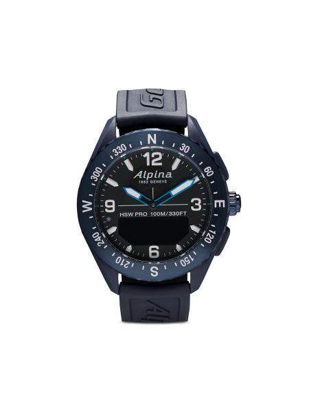 Часы - синие Alpina