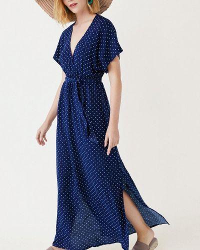 Пляжное платье весеннее синее Women'secret