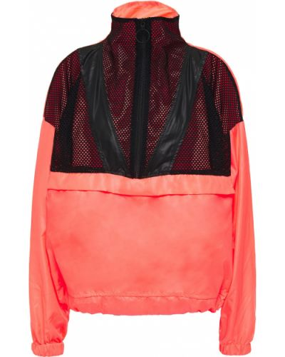 Текстильная красная куртка с карманами Koral