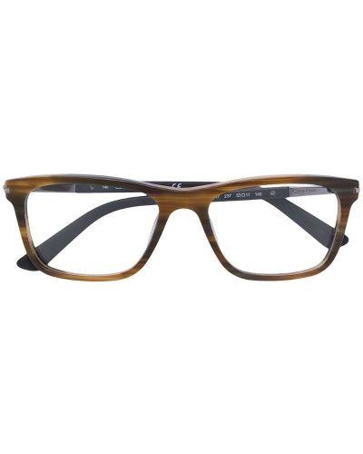 Коричневые очки Calvin Klein