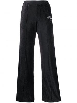 Широкие брюки - синие Golden Goose