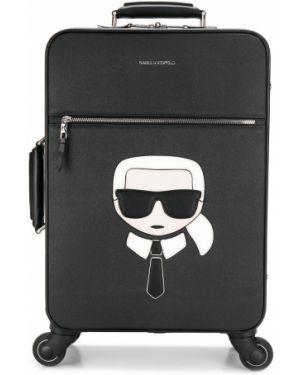 Чемодан с логотипом Karl Lagerfeld