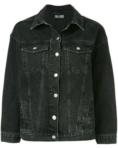 Джинсовая куртка на пуговицах классическая Dalood
