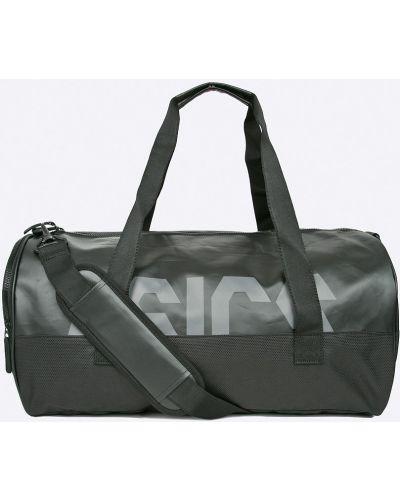 Черная сумка через плечо Asics Tiger