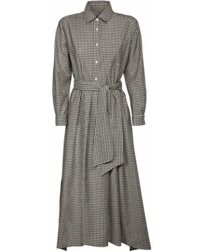 Платье с поясом на пуговицах платье-майка Max Mara Weekend