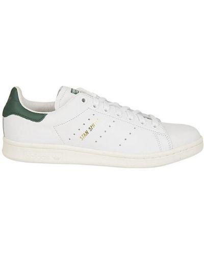 Białe sneakersy bawełniane Adidas Originals