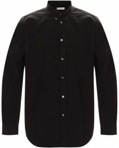 Czarna koszula na co dzień zapinane na guziki Givenchy