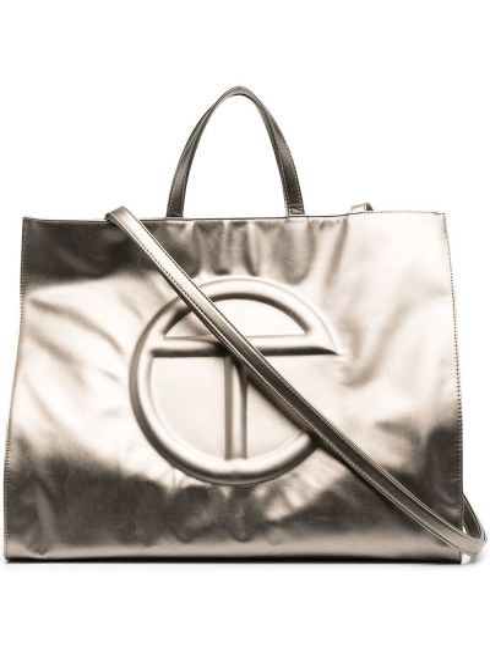 Brązowa torebka skórzana Telfar