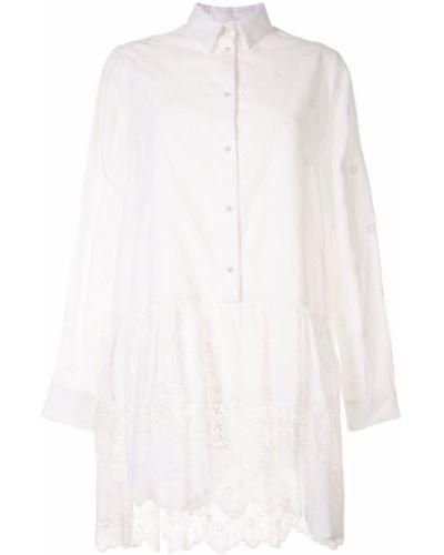 Платье макси длинное - белое Macgraw