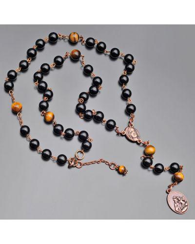 Ожерелье золотое с подвесками Rico La Cara