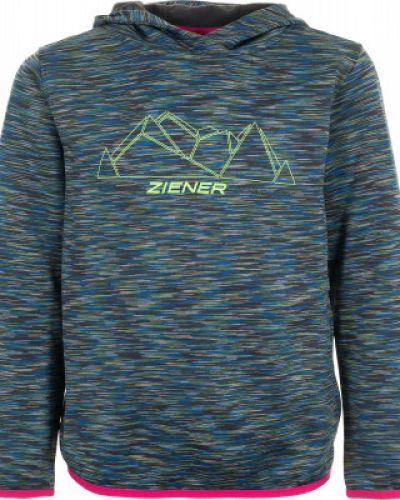 Джемпер с принтом прямой Ziener