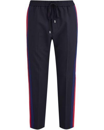 Спортивные брюки укороченные с лампасами Gucci