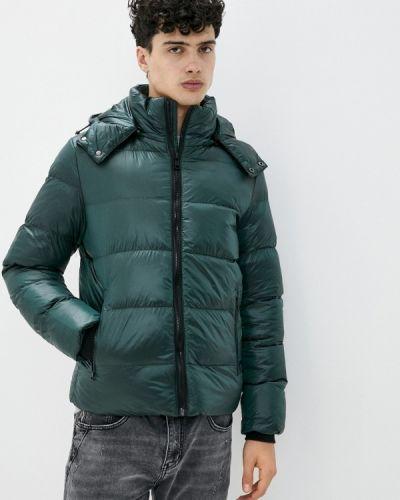 Зеленая утепленная куртка Chromosome