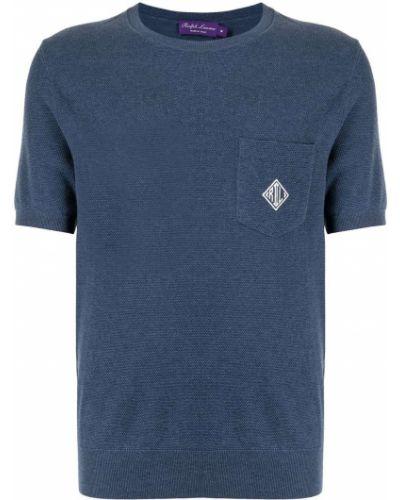 Top - niebieska Ralph Lauren Purple Label