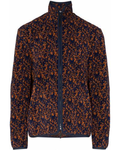 Синяя длинная куртка Lou Dalton