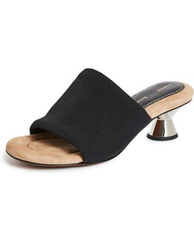 Sandały na obcasie - czarne Proenza Schouler