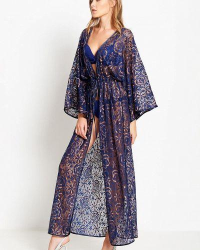 Пляжное платье синее Donatello Viorano