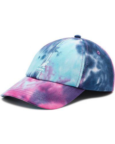 Niebieska czapka z daszkiem Kangol
