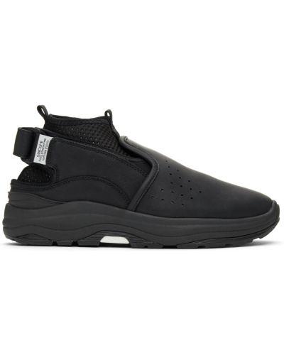 Замшевые ботинки челси - белые Suicoke