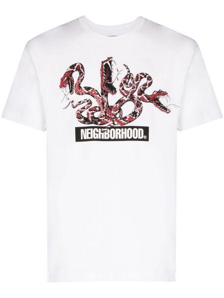 Koszula z nadrukiem z kapturem Neighborhood