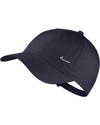 Klasyczna niebieska czapka w paski Nike