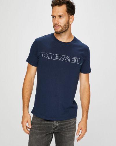 Футболка с принтом прямая Diesel