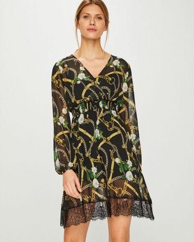 Платье мини с запахом с вырезом Liu Jo