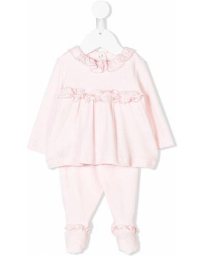 Спортивный костюм розовый эластичный Miss Blumarine