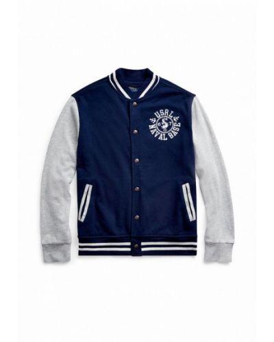 Облегченная синяя куртка Polo Ralph Lauren