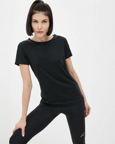 Черная спортивная футболка Rukka