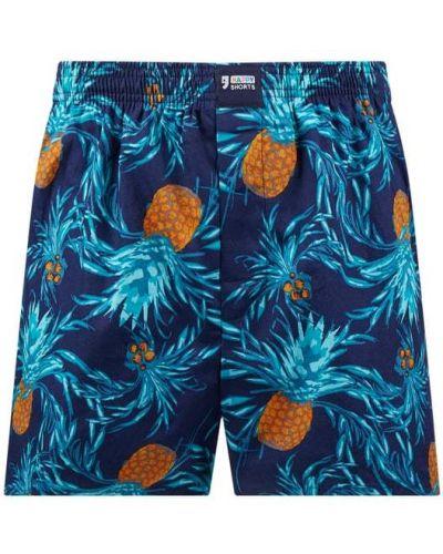 Niebieskie majtki szorty bawełniane Happy Shorts