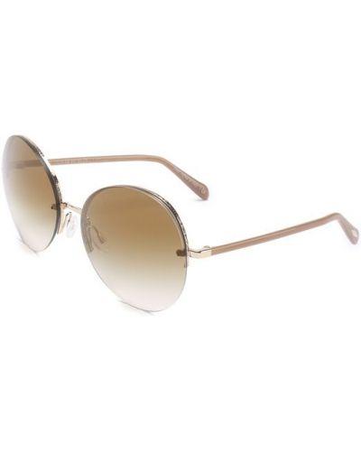Солнцезащитные очки с градиентом металлические Oliver Peoples