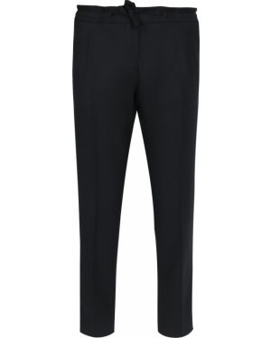 Шерстяные брюки - черные Paul&shark