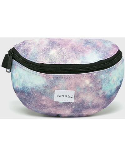 Фиолетовая поясная сумка Spiral