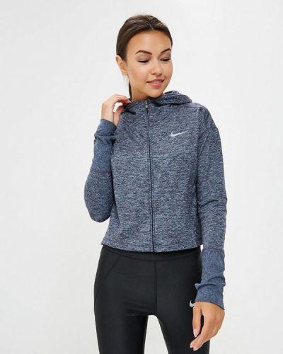 Синяя толстовка Nike
