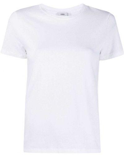 Белая рубашка с короткими рукавами круглая Closed