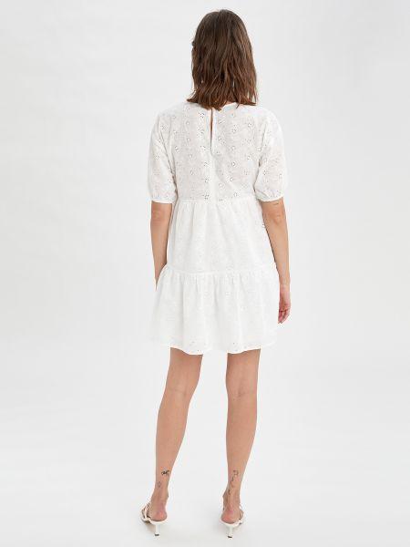 Платье - белое Defacto