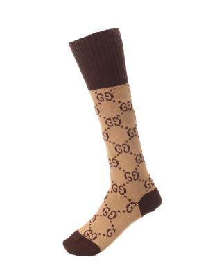 Skarpety brązowy Gucci