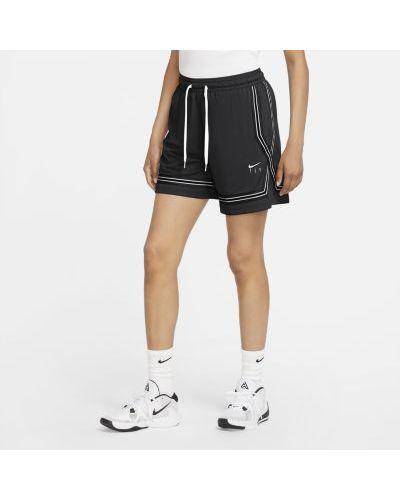 Баскетбольные шорты сетчатые из плотной ткани Nike
