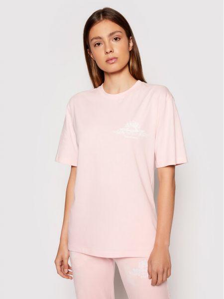 Różowa t-shirt Juicy Couture