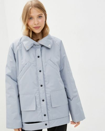 Теплая серая куртка Be Main