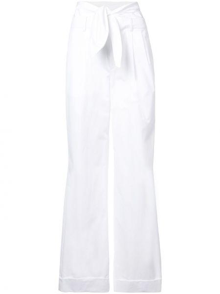 Szerokie spodnie z kieszeniami z wysokim stanem Alexander Wang