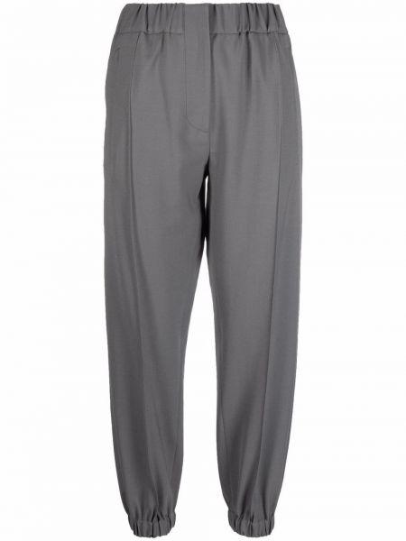 Серые брюки с карманами Tela