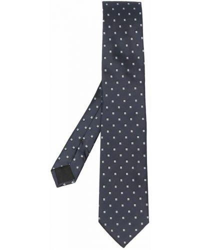 Szary krawat Hugo Boss
