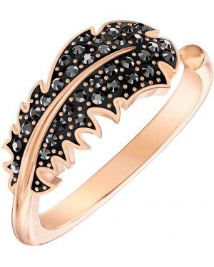 Кольцо из золота металлический Swarovski