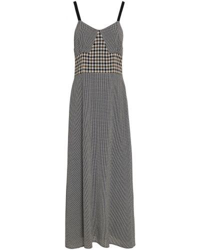 Шерстяное платье миди - черное Isa Arfen