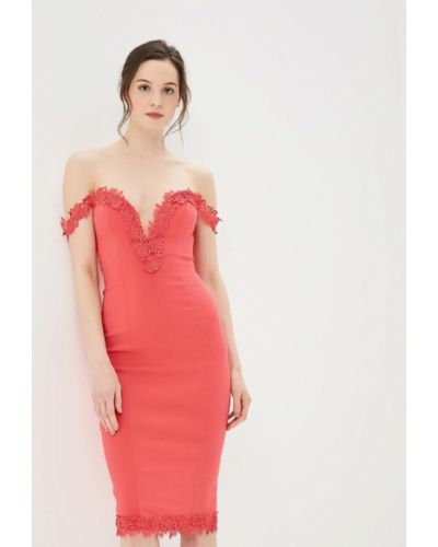 Розовое платье весеннее Ad Lib